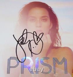 KATY PERRY signed Autographed PRISM VINYL ALBUM LP PROOF Beautiful Sig COA