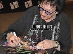 KISS Signed Vinyl Gene Simmons Autograph Album Ace Frehley Peter Criss Dynasty