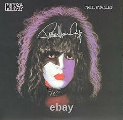 KISS Signed Vinyl Paul Stanley Autographed Album (Frehley Simmons Criss) W Proof