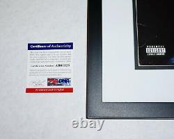 Kanye West FRAMED SIGNED + Sketch Late Registration LP RECORD ALBUM PSA JSA