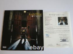 Kanye West Signed Album Record Lp Late Registration 12 Vinyl Jsa Proof