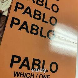 Kanye West Signed Vinyl Beckett COA The Life Of Pablo TLOP Album Record BAS