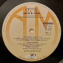 Karen Carpenter And Richard Signed LP Record Album withCOA
