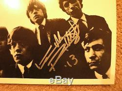 Keith Richards Signed Record Store Day Lp Acoa Loa + Proof! Rolling Stones Album