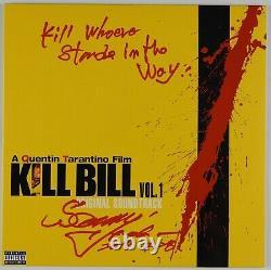 Kill Bill Sonny Chiba JSA Signed Autograph Album LP Record Vinyl Soundtrack