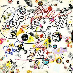 Led Zeppelin Signed Album Coa Included 100% Authentic Guaranteed