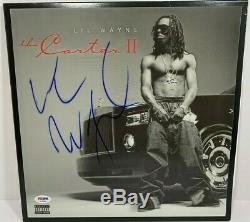 LIL Wayne Signed Autographed The Carter 2 Vinyl Album Lp Record Store Psa/dna