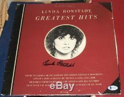LINDA RONSTADT Rock Music Legend SIGNED AUTOGRAPHED 1976 Greatest Hits Album BAS