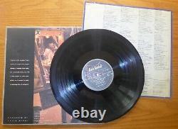 LINDA RONSTADT autographed signed auto Simple Dreams album LP