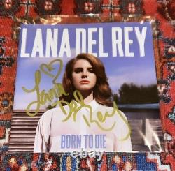 Lana Del Rey Born To Die Signed Album Booklet (Same Day Shipping)