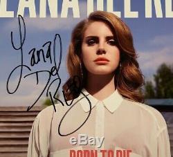 Lana Del Rey Signed Autograph Record Album JSA COA Born To Die