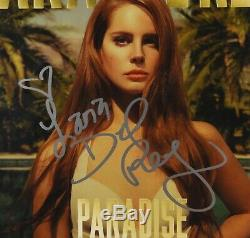 Lana Del Rey Signed Autograph Record Album JSA COA Paradise