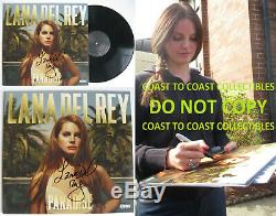 Lana Del Rey signed autographed Paradise Album, Vinyl Record, COA exact Proof
