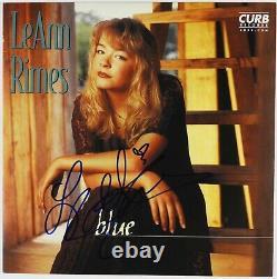 Leann Rimes JSA Signed Autograph Record Album Vinyl Blue