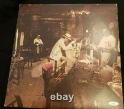 Led Zeppelin In Through The Out Door Signed Album By John Bonham, Page, Plant