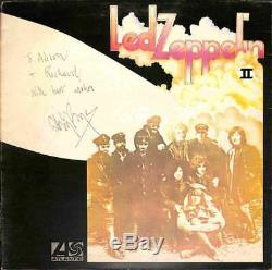 Led Zeppelin Jimmy Page Vintage Signed Autographed Led Zeppelin II Album Beckett