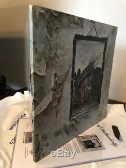 Led Zeppelin Signed Album Signed By The 4 Original Members