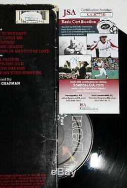 Lita Ford Signed Lita Lp Vinyl Record Album St Autographed Runaways +jsa Coa