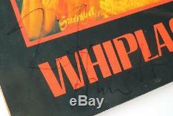 METALLICA Signed Autograph Whiplash Album Vinyl Record LP by 4 Cliff Burton +