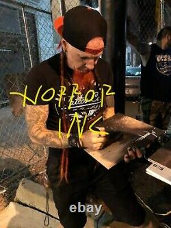 MUDVAYNE CHAD GRAY AUTOGRAPHED SIGNED LOST AND FOUND VINYL ALBUM With EXACT PROOF