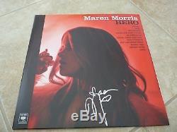Maren Morris Sexy Autographed Signed HERO My Church LP Album PSA Guaranteed