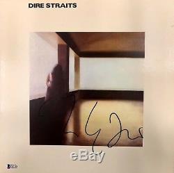 Mark Knopfler Autographed Signed Dire Straits Bas Coa Record Album