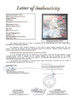 Metallica (3) Hetfield, Hammett, Newsted Signed Album Cover With Vinyl JSA #Y79139