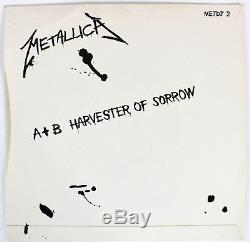 Metallica (4) Hetfield, Ulrich, Hammett Signed 45 RPM Album Cover With Vinyl BAS