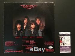 Metallica Kill em All Signed Autograph Record Album JSA COA Kirk Hammett Lars