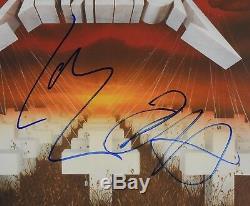 Metallica Master Of Puppets Signed Autograph Record Album JSA Kirk Hammett Lars