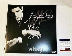 Michael Buble Signed Autograph Call Me Irresponsible Lp Album Record Psa Jsa