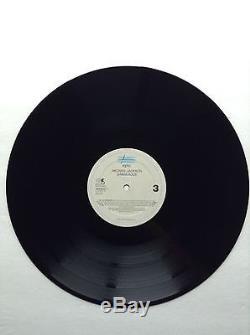 Michael Jackson HAND SIGNED Autograph DANGEROUS Record Album LP Vinyl Album 90's