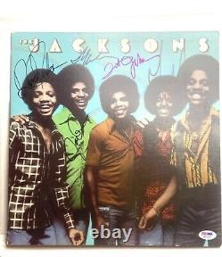 Michael Jackson Record Collection Including Signed Jackson Five Album w. COA