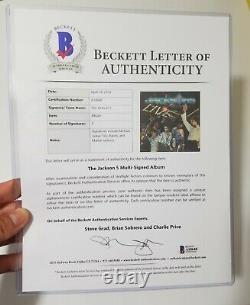 Michael Jackson Signed Autographed Jackson 5 Live LP Album BAS BECKETT LOA