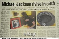 Michael Jackson Signed Thriller Record Album