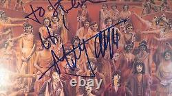 Mick Jagger Signed It's Only Rock and Roll Album PSA DNA COA LOA Autograph