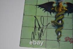 Mick Mars Signed Motley Crue DR FEELGOOD Vinyl Record Album LP Beckett COA