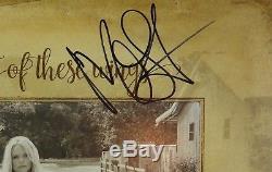 Miranda Lambert Weight Of These Wings Signed Autograph Record Album Vinyl JSA