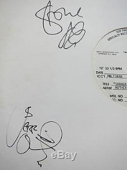 Mother Love Bone Signed Album Coa + Proof! Pearl Jam Autograph Lp