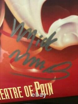 Motley Crue Hand-signed Framed Lp Album Autograph Sixx Neil Lee Mars 11.21.1987