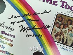 Muhammad Ali signed N inscribed record album I'm the greatest of all time JSA
