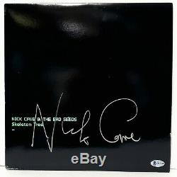 NICK CAVE & THE BAD SEEDS Signed SKELETON TREE Album Vinyl LP BAS #Q93441