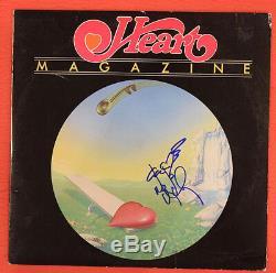 Nancy Wilson Signed Autographed Heart Magazine Record Album LP