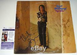 Neil Diamond Authentic Signed Record Album Vinyl LP Autographed JSA COA