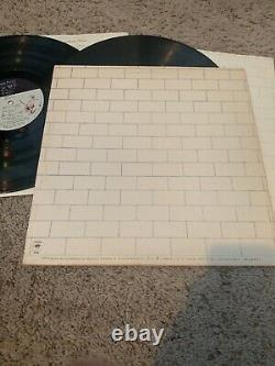 Nick Mason Autographed Vinyl Cover Album Pink Floyd The Wall Record V130