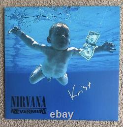 Nirvana Nevermind Signed Autographed Vinyl Record Krist Novoselic Auto Album