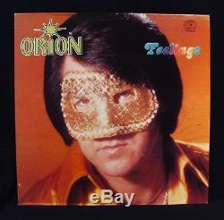 ORION-JIMMY ELLIS-Autographed FEELINGS Album-Elvis Presley-SUN RECORDS #144