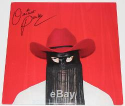 ORVILLE PECK BAND FULL SIGNED AUTHENTIC'PONY' VINYL RECORD ALBUM LP withCOA PROOF