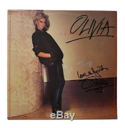 Olivia Newton John Autographed Signed Album LP Record Authentic JSA COA