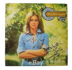 Olivia Newton John Autographed Signed Album LP Record Certified JSA COA